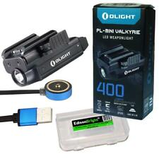 Olight PL-MINI Valkyrie 400 Lumen LED USB Rechargeable Pistol Light w/cable case