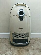Miele S8590 Alize Canister Vacuum Cleaner Base Only PowerLine Vortex Motor Ivory