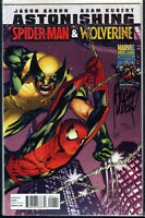 Spider-Man Wolverine #1 signed ADAM KUBERT DF COA LIM 125 VENOM Marvel Stan Lee