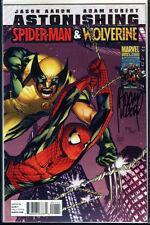 Spider-Man & Wolverine #1 signed signiert ADAM KUBERT + DF COA LIM 125 US MARVEL