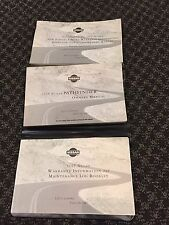 NISSAN PATHFINDER 1999 OWNER MANUAL 4/PC.SET& BLACK NISSAN TRI-FOLD FACTORY CASE