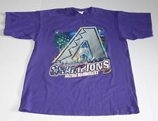 Arizona Diamondbacks 2001 World Series Champs T-Shirt Graphic Logo Size - Large