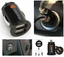 Universal Mini USB Cargador De Coche Doble Puerto Doble 12V enchufe encendedor zócalo adaptador