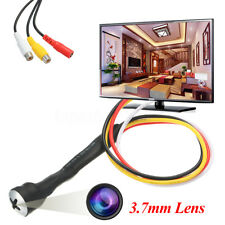 3.7mm HD MINI MICRO TELECAMERA CAMERA SPIA SPY CAM AUDIO CCTV 800 TV NASCOSTA
