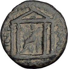 HADRIAN Tiberias Judaea Holy Jewish City Ancient Roman Coin Zeus Temple 44737
