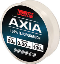 Tronixpro Axia 100% Fluorocarbon in 6lb to 30lb-Clear