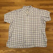 Blues Legend BB KING Personal Custom Made Plaid Shirt Personally Owned