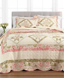 Martha Stewart Collection Star Patchwork Full Bedspread T4101407