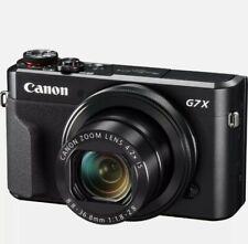 Brand New CANON PowerShot G7 X Mark II Digital Compact Camera UK