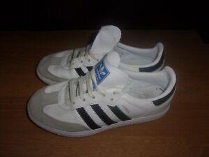 Adidas Originals Samba OG White, Black & Grey boys trainers size 13