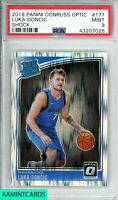 2018-19  PANINI DONRUSS OPTIC Luka Doncic #177 SHOCK!!! ROOKIE RC PSA 9 MINT