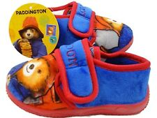 Boys Paddington Bear Character Red Soft Touch Character House Slipper Shoes