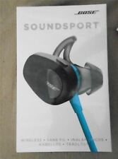 Bose SoundSport Wireless Headphones In-Ear Bluetooth NFC Aqua New SEALED