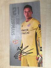 Autogramm LUUK KOOPMANS-PSV Eindhoven 16/17-Holland-jetzt ADO Den Haag-AK