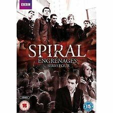 new SPIRAL French TV SERIES  4  four Engrenages REGION 2 CULT complete
