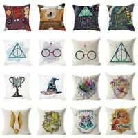 """17"""" Pillow Cases Harry Potter Printed Kids Cushion Cover Throw Sofa Home Decor"""