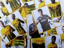 Photos Officielles dédicacées joueurs FC NANTES FCNA 2020 / 2021 foot ultras
