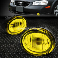 FOR 02-03 NISSAN MAXIMA AMBER LENS FRONT BUMPER DRIVING FOG LIGHT LAMP W/SWITCH