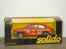 Alfa Romeo Sud - Solido 69 France 1:43 in Box *42936