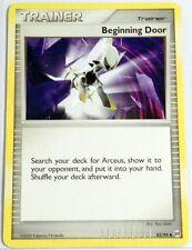 Pokemon Cards BEGINNING DOOR 82/99 PLATINUM ARCEUS SET UNCOMMON (E)