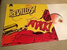 "REVILLOS SPANISH 12"" LP SPAIN - ATTACK - PUNK"