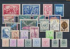 LL92877 Belgium nice lot of good stamps MNH