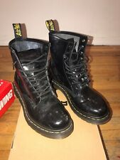 Dr. Martens 1460W Patent Leather Boots