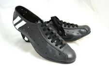 SCARPE CICLISMO VINTAGE CYCLING SHOES EROICA VERA PELLE MADE IN ITALY MERCKX