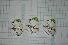 X3 Nelu the Bear stickers from CSGO in real life MLG Counter Strike CS cute PC