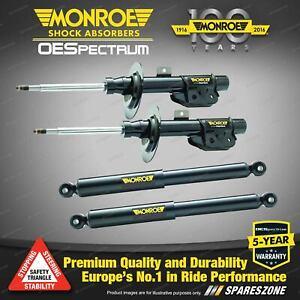 Front + Rear Monroe OE Spectrum Shock Absorbers for Hyundai Iload TQ2-V TQ3-V