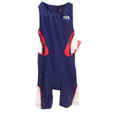 Tyr Women's Carbon Tri suit Back Zip with Pad Carbon Triathlon Suit Small Navy
