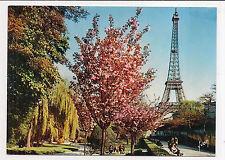 paris  , la tour eiffel , vue des jardins du palais de chaillot