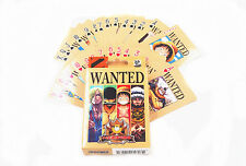 One Piece Wanted Dead Or Alive Luffy Playing Cards Deck Poker New In Box