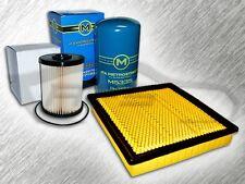 5.9L TURBO DIESEL 2 INCH AIR FILTER 1 OIL FILTER & FUEL FILTER FOR DODGE