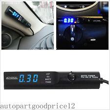 Blue LED Display Car SUV Turbo Timer For Turbo & NA Black Pen Control Universal