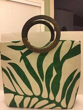 BIJOUX TERNER Paper Straw Summer Tote Bag