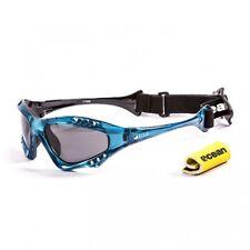Ocean Sunglasses Australia polarized Blue frames w/smoke lens New