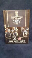 Tampa Bay Lightning 2014 Stanley Cup Playoffs Program First Round Game 2