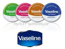 Vaseline Lip Therapy Balm Petroleum Jelly 20g Pocket Size Tin BUY1 GET1 50% OFF!