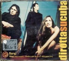 Dirotta Su Cuba - Bang! 3 Tracks Cd Sigillato