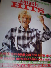 December Smash Hits Weekly Music, Dance & Theatre Magazines