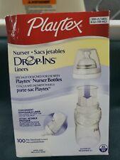 Playtex Nurser Drop Ins Liners 99ct 4oz Sacs