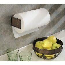 Paper Towel Holder for Kitchen -Wall Mount/Under Cabinet, Bronze InterDesig