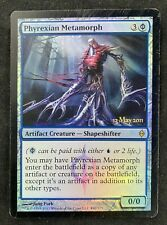MTG Magic The Gathering FOIL Phyrexian Metamorph Release Promo New Phyrexia HP