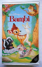 Rare 1989 Bambi Black Diamond Edition The Classics Collection VHS Tape