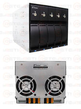 € 102+IVA Fantec 5-Bay SAS/SATA Trayless Backplane Internal Enclosure MR-SA3151