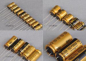 2-10pcs Nichicon Japan FW Series Hi-Fi Audio Electrolytic Capacitors