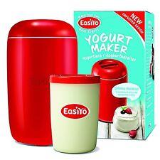EasiYo Manueller Joghurt Hersteller (Hausgemacht in 8 Hours) Macht 1Kg Rot