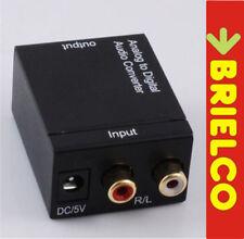 CONVERTIDOR AUDIO ANALOGICO A DIGITAL COAXIAL-OPTICO TOSLINK ALI 220V-5V BD9318