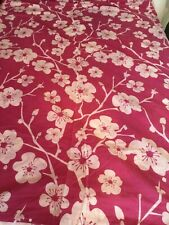 PINK AND WHITE FLORAL  SINGLE QUILT COVER SET